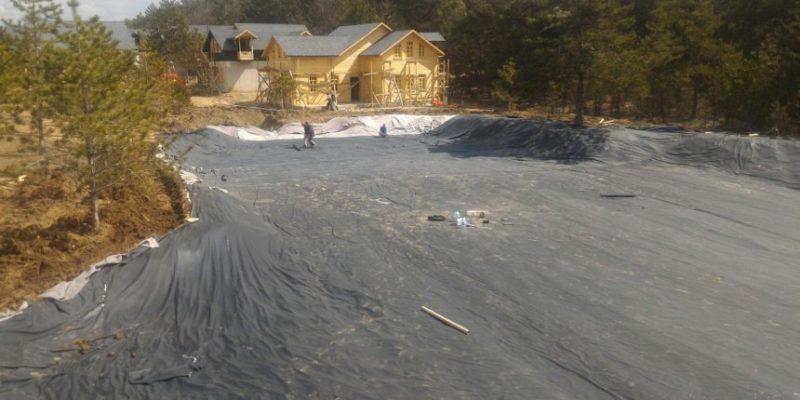 mudurnu gurçam köyü öğrenci kamp alanı göleti